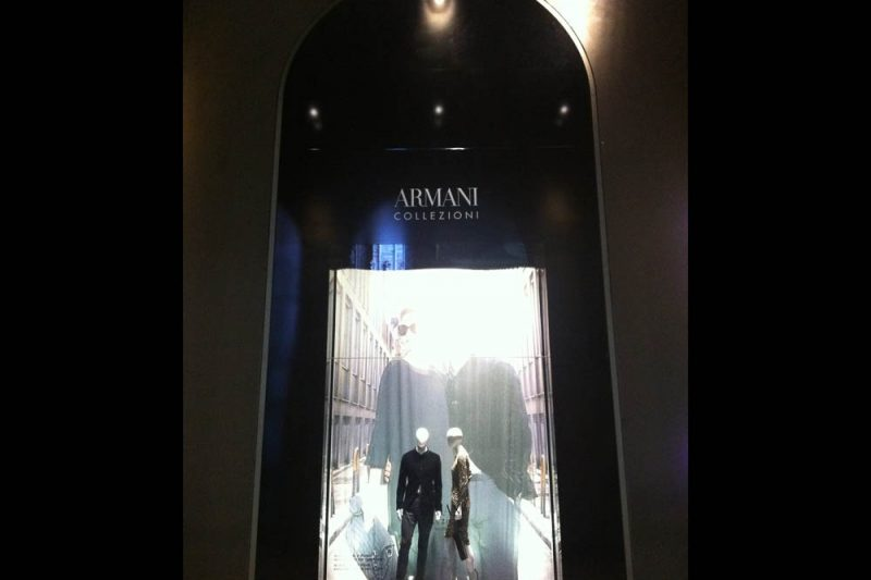 Armani foto 3 - Shop window - by Artes Group International