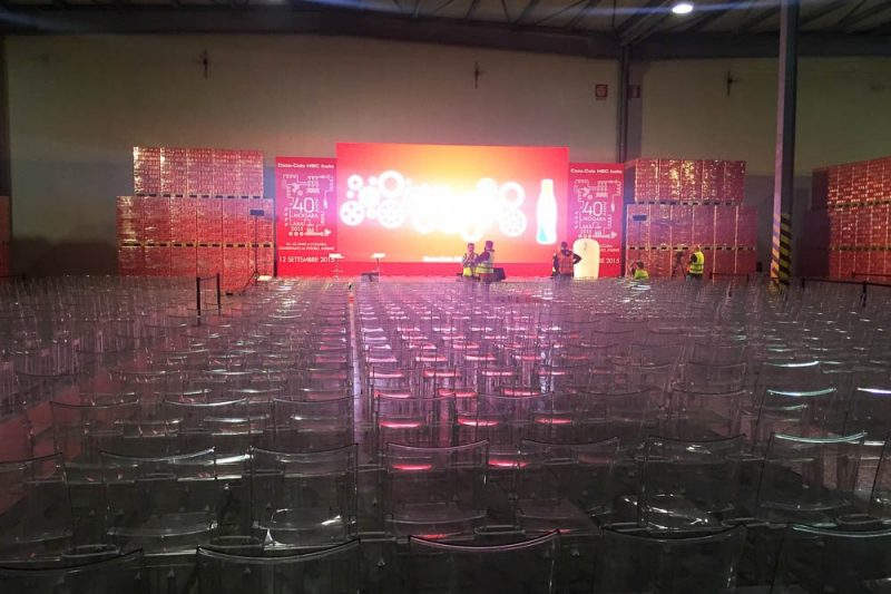 Next Group for Coca Cola foto 1 - Stage design for events - by Artes Group International