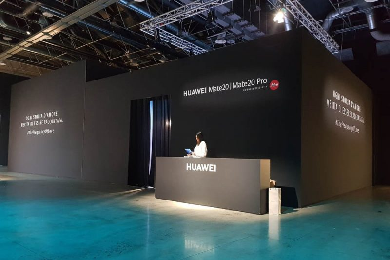 Huawei 2018 foto 3 - Scenografie per eventi - by Artes Group International
