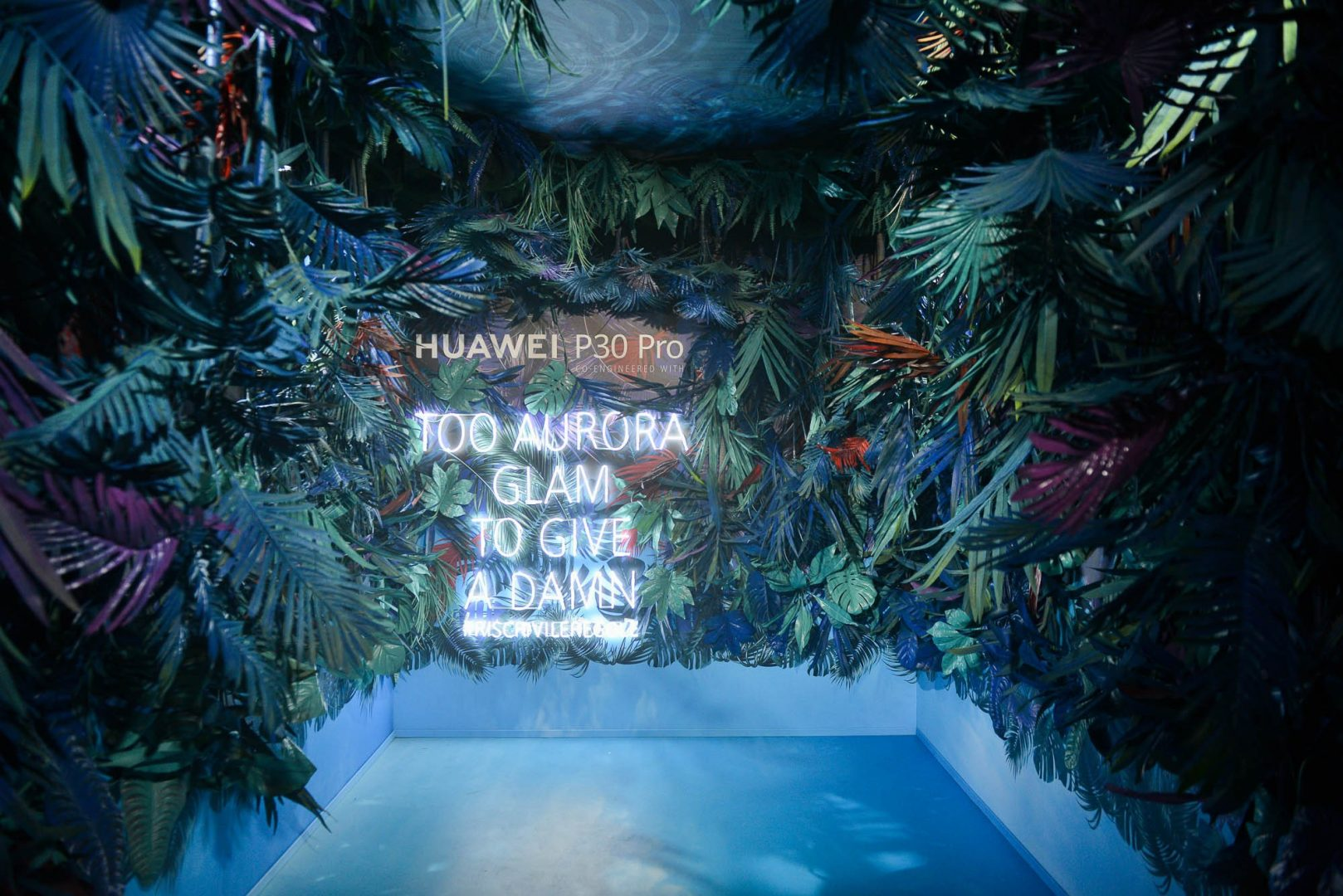 LFM Group per Huawei 2019 - Experience Box for playful/sensory effects for IG photos