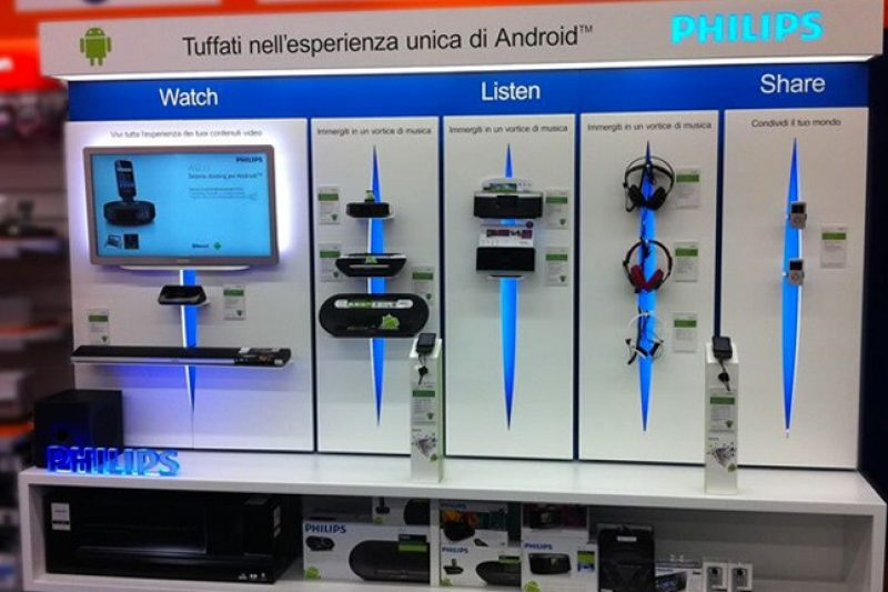 Philips foto 1 - Display units - by Artes Group International